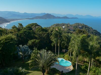 Photo for Excellent house with incredible visual of Ubatuba
