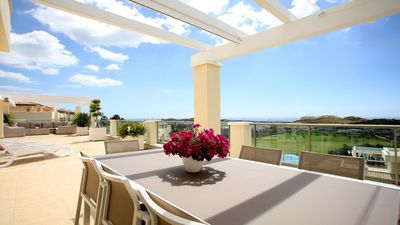 Photo for Luxury penthouse with views