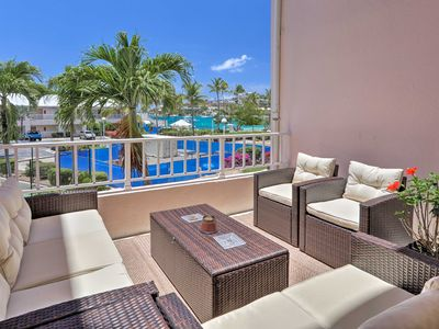 Photo for NEW! St. Thomas Resort Condo w/Pool & Ocean View