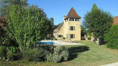 Photo for Superb estate mixing charm and nature! La Fage, Journiac, France