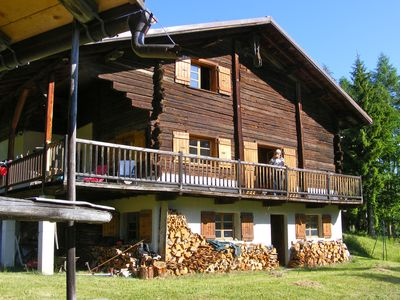 Grand chalet traditionnel beaufortain