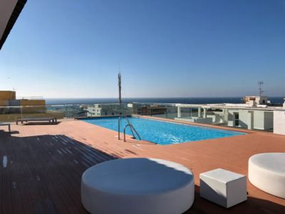 Photo for New apartment with pool terrace at 300 m from the beaches and the old town