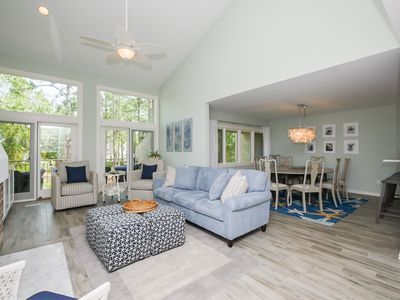 Photo for 1464 Sound Villa - Fully Renovated - Gorgeous views of the Calibogue Sound!
