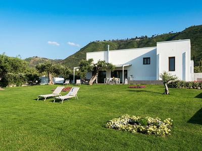 Photo for Elegant house in Cefalù, only 100m from the sea with stunning views and garden!