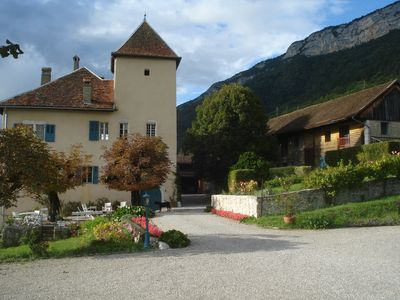 Photo for Lake Annecy, favorite, apartment, exceptional view, 6 people 45 m2