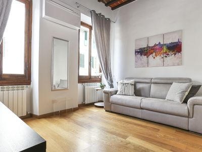 Photo for The House of Lo Bright Apartment San Lorenzo Market