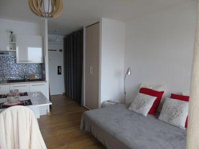 Photo for Studio 2pers in the heart of Haute-Savoie with balcony, renovated.