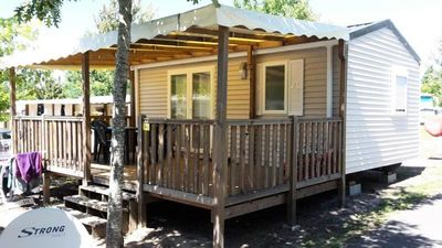Photo for Camping L'arbre D'or - 3 Room Mobile Home With air Conditioning 4 People