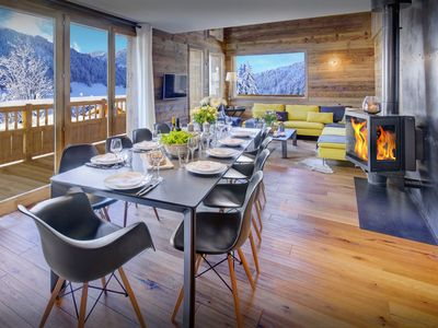 Photo for Stylish chalet close to piste, ski bus and village facilities - OVO Network