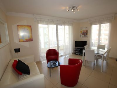 Photo for Luxurious 3 rooms with sea view near the Croisette