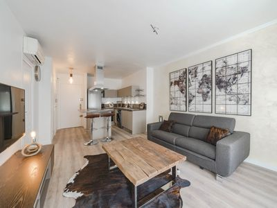 Photo for Brand new 1 bedroom in the heart of Cannes