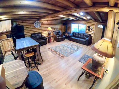 Photo for Busy Beaver Cabin+4 Bdrms+WiFi+Hot Tub+Close 2 YNP