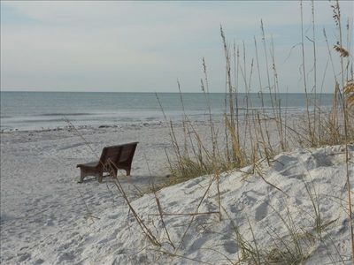 Enjoy the sunsets and relax on our beautiful white powdery sandy beach!