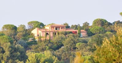 Photo for Elegant bastide Provençale, unheard sea and countryside, park, swimming pool 20 meters