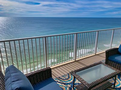 Photo for New to Rental Program for 2020! Luxury, Beach-Front Condo, Free Beach Chairs!