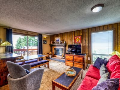 Photo for Ski-in/ski-out condo with shared hot tub, sauna, and panoramic views!