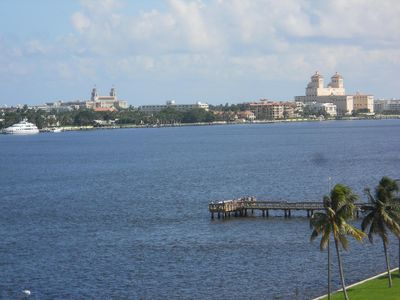 Photo for DIRECT WATERFRONT OVERLOOKING PALM BEACH -PET POSS -5-6 WKS DURING FEB THRU APRI