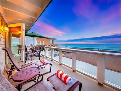 Photo for 25% OFF OCT - Beautiful Oceanfront Beach Home on the Sand + Amazing Views