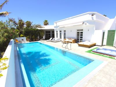 Photo for Casa Don Seka, Beautiful 5 bed Villa with Sea Views, Hot Tub & Sauna