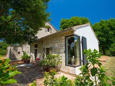 Photo for Charming restored stone villa with private pool