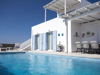 Photo for Panoramic views, Private swimming pool, Beach proximity, 8 people.