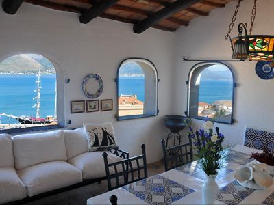 Photo for Villa Aragonese - Sea view from Anjou's Castel