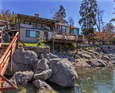 Photo for Unobstructed Lake Access & Views, with boat dock, near Yosemite, 3 bedrooms
