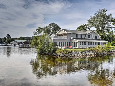 Photo for NEW-Lakefront Naples Home w/Dock, Billiards, Views