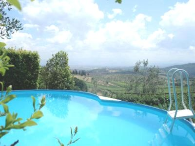 Photo for NEAR FLORENCE  APARTMENT IN VILLA WITH GARDEN AND PRIVATE SWIMMING POOL