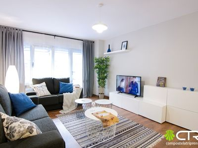 Photo for Spacious apartment in the center of Santiago