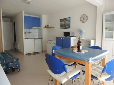 Photo for Studio for 4 people 2 steps from the sea