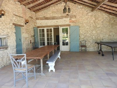 Photo for Detached and quiet house with private pool, near Lauzerte