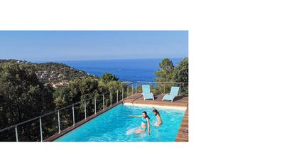 Photo for 100% Happiness superb villa with sea view near beach, idyllic setting
