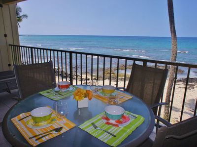 Photo for Direct Ocean Front | WIFI | Starts at $184/night