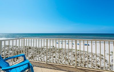 Photo for Sans Souci 305 Gulf-front - 1 bedrm condo on 3rd floor. Free WiFi. New Rental