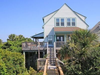 Photo for Book Now & get $250 Beach Gear Credit! Oceanfront with Private Boardwalk