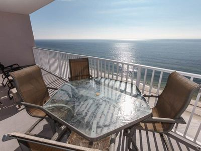 Photo for Picture-Perfect 13th-Floor Condo! Panoramic Gulf-Front Views! Gulf-Front Pool
