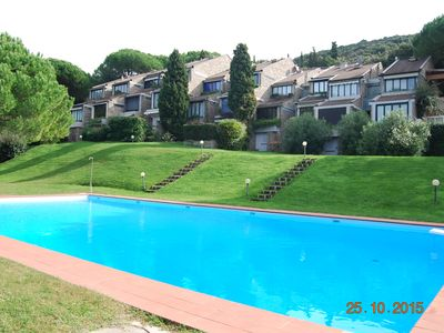 Photo for DELICIOUS APARTMENT FOR 7 PEOPLE IN SPLENDID PARK WITH POOL