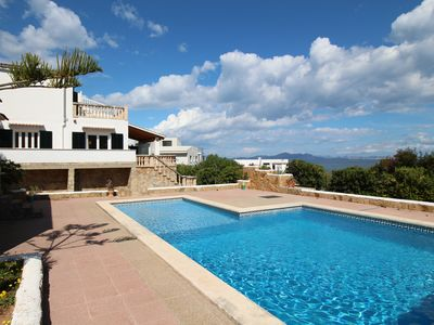 Photo for Villa Ferrutx Private Pool ans Sea Views