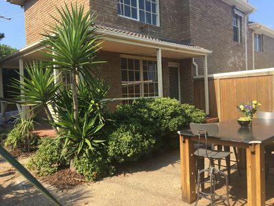 Photo for Esplanade Townhouse in Mornington, Seaviews, great yard,  1 min to the beach