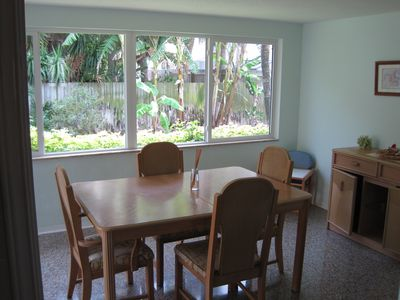 Dining Room with view into back yard
