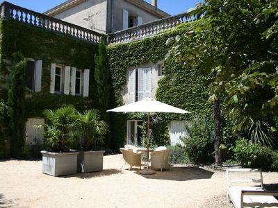 Photo for Luxury mansion, Uzès, Provence with pool