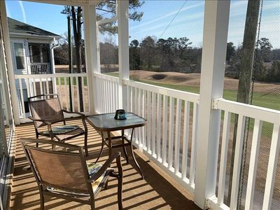 Photo for Gorgeous top floor condo over looking the golf course.