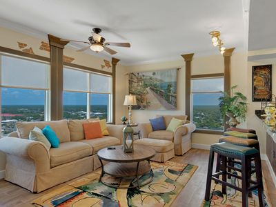 Photo for End Unit - Directly On The Gulf! Sleeps 6! Italian Luxury Furnishings!