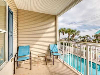 Photo for 2nd Floor Airy, coastal condo, Steps to the gulf, Quick drive to entertainment