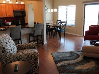 Photo for Spectacular 2 bed 2 bath Condo- So Spacious! Enjoy Lake Views- SDC 1 mile away!