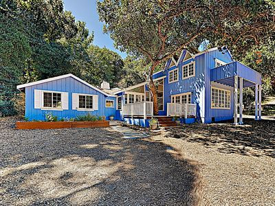 Photo for New Listing! Storybook Eden w/ Fireplace - Private Wine Country Locale