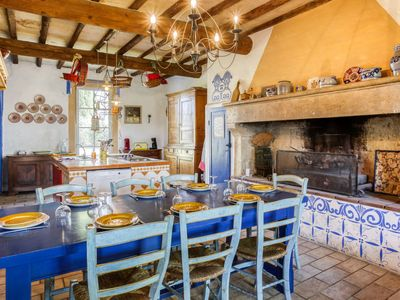 Photo for Vacation home Mas Mont Plaisir in Vauvert - 8 persons, 4 bedrooms
