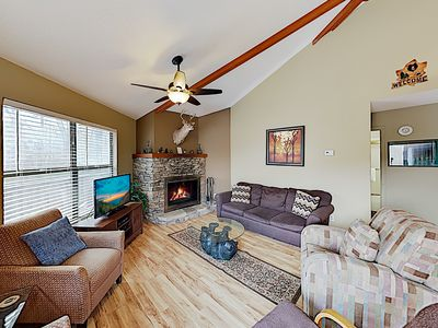 Photo for 2BR Roundette Cabin w/ Deck and Hot Tub - Close to Downtown
