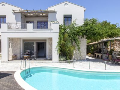 Photo for Early bird Offer: Luxury villa ideal for families just 2 min away from the beach